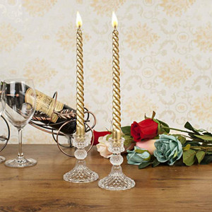 Хрустальное стекло подсвечник украшения дома свадебный канделябр подсвечник устанавливает украшение свечи
