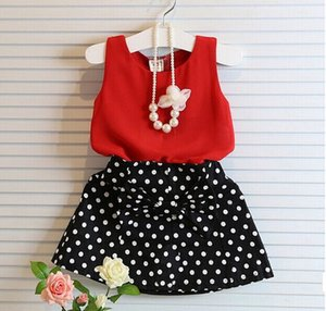 Fashion Boutique Outfits Baby clothes Girls Sets Cute Tops Bow Tutu Skirts suits girls clothes kids clothing set