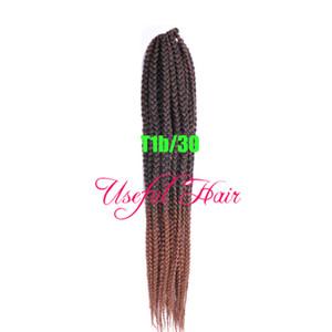 Trecce box 3s twist intreccio sintetico intrecciati capelli trecce estensioni dei capelli 24 ORE SERVIZIO CLIENTI jante collection Medium Auburn HaiR