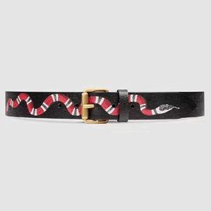 Cinture da uomo di alta qualità Cintura da uomo di alta qualità Cintura da uomo in vera pelle con cinturino in pelle di serpente