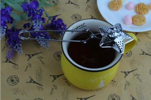 Paslanmaz Çelik Uzun Sap Çay Demlik çay topu çay topları demlik 16.7 uzun Çay çubukları
