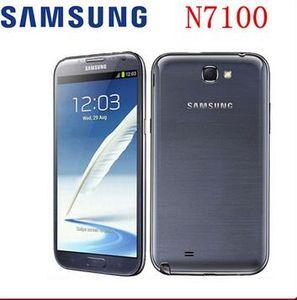 "Оригинальный Samsung Galaxy Note II 2 N7100 Android четырехъядерный телефон 5.5"" 2GB RAM 16GB ROM 3G NFC восстановлен"
