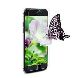 لاجهزة ايفون 8 ، واقي شاشة صلب مقاوم للكسر بحماية زجاجية لهواتف ايفون 8 بلس ، X - انواع مختلطة 9H Clear 2.5D Anti Fingerprint Factory Ship-YH0305