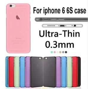 2020 0.3mm Estuche ultrafino delgado mate mate para teléfono Funda totalmente transparente transparente flexible PP para iPhone 11 pro MAX X XS XR 8 7 6 6s Plus