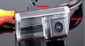 HD Araç CCD RCA NTST Plaka Işık OEM / Geri Görüş Kamerası İçin Toyota Land Cruiser LC 200 LC200 2008 ~ 2014 arka kapı yok Yedek Tekerlek