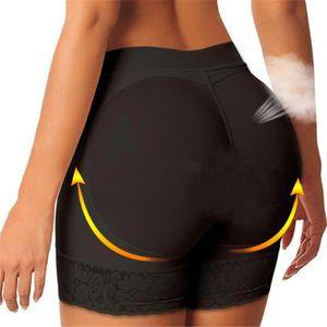 2PC Donne Imbottite Mutandine Imbottitura Biancheria intima Butt Lift Mutandine Cotton Pads Enhancement Hip Up Big Ass Mutande Del Partito Matrimonio Intimates