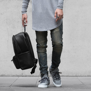 Wholesale-Represent Clothing Designer Pants Blue Destroyed Mens Slim Denim Straight Biker Skinny Jeans Ripped Jeans 28-38