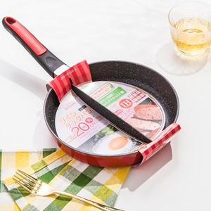 Home Life 83 20 Cm Kahvaltı Tava Non-Stick 2 In 1 Tavada Non-Smoke Bölünmüş Izgara Kızarmış Yumurta ve Pastırma