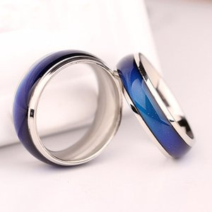 Atacado Mix tamanho Mood Ring Temperatura Mudança cor Anéis Moda Jóias