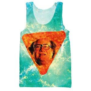 Funny Tank Tops Danny DeVito В Nacho Cheese Flavor Vest без рукавов рубашка Мужчины Джерси Мужчины Camisetas Мода Одежда Спортивная одежда