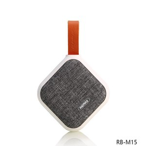 Altoparlante Bluetooth senza fili tessuto REMAX RB-M15 varietà di colori Smart portatile Bluetooth NFC SPEAKER per protezione ambientale regalo