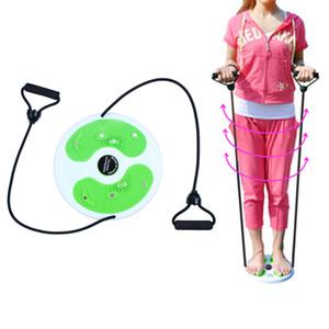 Cintura Twister Disc Board Cintura delgada y perder peso Balance de brazos Ejercicio Figura Cizalla con cuerda de tracción
