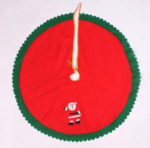 """Vente en gros- 1 pièce Nouveau 90cm 35 """"fantaisie joyeux arbre de Noël jupe Xmas Tree décoration Santa Claus"""