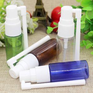 100pcs / lot 15ML botellas de spray nasal, PET vacío fino spray de niebla nasal, botella de spray nasal plástico