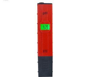 الخلفية الرقمية LCD 0.01 PH متر ATC القلم اختبار QUILITY المياه حوض سباحة النبيذ مراقب البول