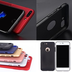 Heat dissipation phone case For iP 5 5s 6 6s Case Scrub Texture hard PC For iPhone 5 6 Plus phone case covers