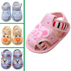 Niños sandalias de niña Zapatos de bebé de verano Baby First Walk Kid Shoes zapatos de sandalias ocasionales de buena calidad para niños