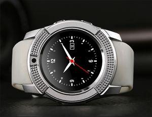 SC06 V8 DZ09 U8 Smartwatch Bluetooth Smart Watch con 0.3 M fotocamera SIM card Watch per Android S8 IOS Smartphone In RetailBox