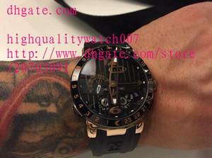 Nouveau luxe montre mens automatique automatique montre-bracelet mécanique en verre transparent Retour Full Phanto ceinture noire cadran noir de haute qualité Mens Watch W