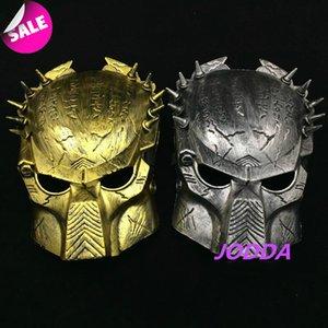 FLYDREAM Terörist Predator Cadılar Bayramı Cospaly Parti Plastik Predator Savaşçı Maskeli Kostüm Tam Yüz Anonim Maske