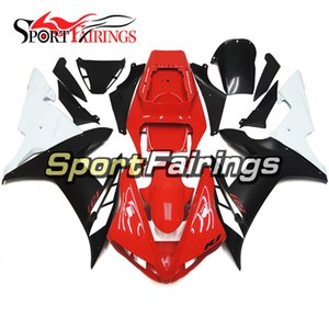 Complete Motorcycle Gloss Black Red Matte Fairings For Yamaha YZF1000 R1 02 03 2002 2003 Injection ABS Fairings Motorcycle Bodywork Cowlings