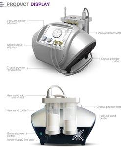 Microdermoabrasão De Cristal Profissional E Dermoabrasão De Diamante Micro Micro Dermoabrasão De Cristal Peeling Facial Máquina de Remoção de Cicatriz