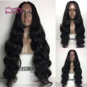 Loose Wave full lace wigs glueless virgin malaysian hair lace front human hair wigs with baby hair for Black Women