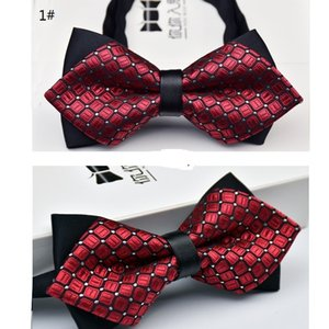 New Bow Ties Moda formale commerciale Uomo Bowties Cravate Accessori Corbatas Gravata Bowtie For Wedding in 34 colori