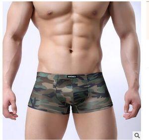 Neue Unterwäsche Männer Boxer Cueca Shorts Sexy Herren Unterhose Männlichen Boxer Military Camouflage Armee Unterwäsche Boxer