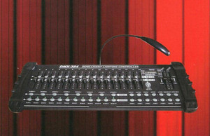 Controlador DMX 384, para iluminación de escenario Equipo de controlador DJ de consola 512 dmx