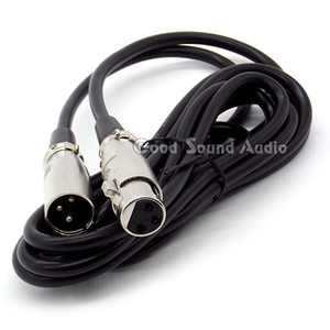 3 Meter   10ft XLR 3 Male to Female Connector Wired Microphone Signal Audio Cable For Phantom Power Condenser Mic Karaoke Mixer Sing Stage