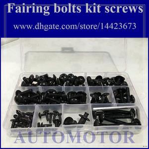 Kit de tornillo completo para tornillos de carenado para HONDA CBR600RR F5 05-06 CBR600F5 CBR 600 F5 CBR600 F5 05 06 2005 2006 RR 1A3 Tuerca de cuerpo Tuercas de tornillo