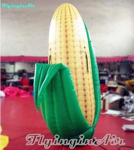 8 'maïs gonflable d'or artificiel debout adapté aux besoins du client de maïs avec la cosse