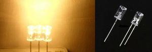 MIX 관통 구멍 오목면 5mm LED 다이오드 라이트 스트립 등에 대한