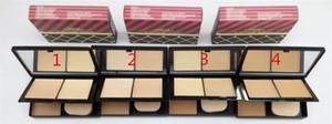 Epacket envío gratis Venta caliente más nuevo maquillaje NUTC RACKER SWEET Collection polvo facial mate de dos pisos 4 colores