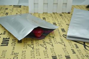 200pcs / lot, 5x7cm Reines Aluminium flache sack Versilberung Vakuum Schokolade / poly cookie ping Sachet, Lutscher Klar sack Heißsiegel