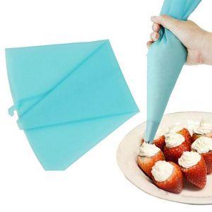 Wholesale- Qualitäts-Silikon Reusable Creme Gebäck-Zuckerglasur-Beutel Piping Beutel-Kuchen Werkzeug verziert