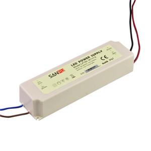 SANPU Waterproof Power Supply 12V 24V 100W 120W 150W AC DC Lighting Transformer LED Driver IP67 Plastic for LEDs Strips Lights