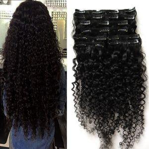 Перуанский зажим в наращивании волос 100 г 100 г 8шт странный вьющийся афроамериканец в наращивании человеческих волос