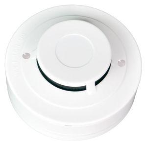 Detector de humo Alarma 2Wired Detector de humo óptico DC9-28V Detectores de humo para el sistema de seguridad en el hogar NUEVO producto Alarma contra incendios Envío gratis