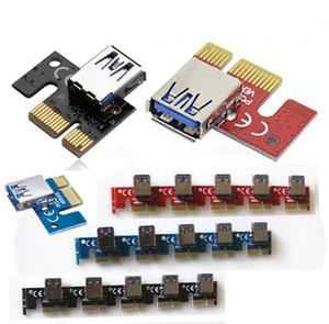 2017 جديد PCI-E 1X إلى 16X GPU تمديد بطاقة محول PCI-E الناهض بطاقة Adpter للتعدين