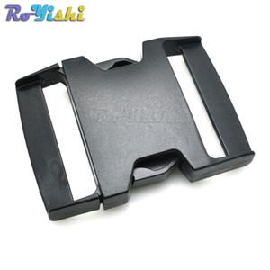 """10pcs / lot 2-3 / 8"""" rilascio laterale di plastica Fibbie cinghie dello zaino tessitura 58 millimetri"""
