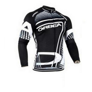 Ropa de Ciclismo bicycle clothes Orbea team bike jersey Cycling Clothing long sleeve mtb Pro men's cycling jerseys D0740