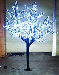 Luz de Natal LEVOU Luz Da Árvore de Flor de Cerejeira 960 pcs LEDs 6ft / 1.8 M Altura 110VAC / 220VAC Uso Ao Ar Livre À Prova de Chuva Frete Grátis LLFA