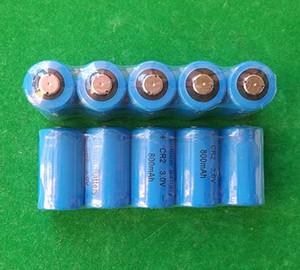 300pcs / lot 3v CR2 2 CR CR-2 DL KCR2 CR17355 batería de foto de la cámara de litio no recargable