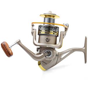 GS 1000 - 7000 Moulinet de pêche Vente chaude 8 Roulements à billes 5.2: 1 Moulinet de pêche German Technology 6000 Series Bobines de pêche
