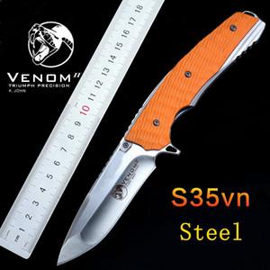 Высокое качество!тактический складной нож 59HRC S35VN лезвие G10 ручка быстро открыть открытый утилита кемпинг выживания нож подшипник ножи EDC инструмент
