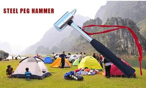Outdoor Aluminum Camping Hammer Multi-function Steel Peg Hammer Tent Pegs Nails Accessories Tool Camp Hammer