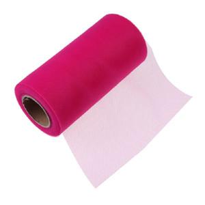 Tissue Tulle Rolle 15 cm 26 Yards Spool Tutu Geschenkpapier Hochzeit Dekoration Geburtstag Party Favors