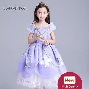 vestito da bambino Vestito a pieghe da ragazza Vestito di alta qualità Vestito da bambina fata vestiti online per bambini shopping online negozio all'ingrosso